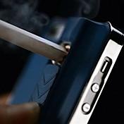 Modello AP-007 purezza del metallo con Accendino Funzione posteriore Case for iPhone 4/4S (colori assortiti)