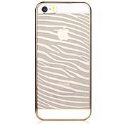 용 아이폰5케이스 투명 / 패턴 케이스 뒷면 커버 케이스 라인 / 웨이브 하드 PC iPhone SE/5s/5