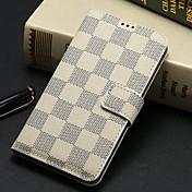 용 삼성 갤럭시 케이스 플립 / 패턴 케이스 풀 바디 케이스 기하학 패턴 인조 가죽 Samsung S5