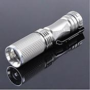 조명 LED손전등 / 손전등 LED 600 루멘 1 모드 Cree XR-E Q5 14500 / AA 조절가능한 초점 / 충전식 / 충격 방지 / 전술적 인 / 슈퍼 라이트 / 컴팩트 사이즈 / 작은 사이즈캠핑/등산/동굴탐험 / 일상용 /