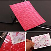 pegatina de color diy protector de esquinas foto sólido (102 pegatinas / piezas de colores surtidos)