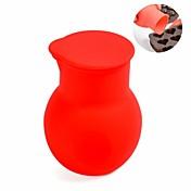 DIY 미니 초콜릿 용광로, 실리콘 소재, 직경. 5.5 ㎝, 붉은 색
