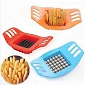 감자 칩하는 창조적 인 감자 바 절단 기계 컷 튀김 / 도구 색 파란색 감자 튀김