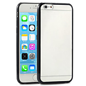 용 아이폰6케이스 / 아이폰6플러스 케이스 투명 케이스 뒷면 커버 케이스 단색 하드 PC iPhone 6s Plus/6 Plus / iPhone 6s/6