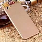 Para Funda iPhone 6 / Funda iPhone 6 Plus Congelada Funda Cubierta Trasera Funda Un Color Dura PolicarbonatoiPhone 6s Plus/6 Plus /