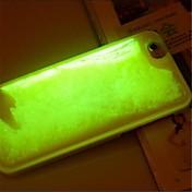 용 아이폰6케이스 / 아이폰6플러스 케이스 플로잉 리퀴드 케이스 뒷면 커버 케이스 단색 소프트 PC iPhone 6s Plus/6 Plus / iPhone 6s/6