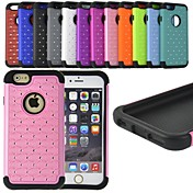 FITIN® Rhinestone Decorate Shockproof Protective Case for iPhone 6 Plus (Assorted Colors)