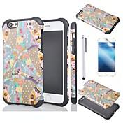 용 아이폰6케이스 / 아이폰6플러스 케이스 충격방지 / 패턴 케이스 뒷면 커버 케이스 기하학 패턴 소프트 TPU iPhone 6s Plus/6 Plus / iPhone 6s/6