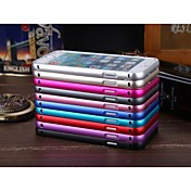 Luphie Ultrathin Push and Pull Slide Aluminium Metal Bumper Case for iPhone 6 Plus (Assorted Color)