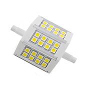 5W R7S LED 콘 조명 24 SMD 5050 300 lm 따뜻한 화이트 장식 AC 85-265 V