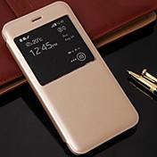 아이폰 6에 대한 간단한 스타일 PU 가죽 커버를 beittal® 플러스
