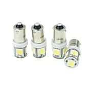 BA9S Coche Camiones y Tráilers Motocicleta Blanco 2.5W LED SMD    LED de Alto Rendimiento 6000-6500Luz Instrumental Luz de Lectura Luz