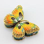 에나멜 백 나비 악세사리 상자 보석 상자