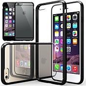 용 아이폰6케이스 / 아이폰6플러스 케이스 투명 케이스 풀 바디 케이스 단색 소프트 TPU iPhone 6s Plus/6 Plus / iPhone 6s/6