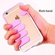 아이폰 5 / 5S 풍부한 손 PC의 커버 (모듬 색상)