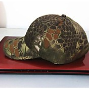 pesca ESDY gorra de béisbol sombrero de camuflaje a prueba de viento de poliéster exterior parasol de color montaña python