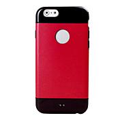 용 아이폰6케이스 / 아이폰6플러스 케이스 Other 케이스 뒷면 커버 케이스 단색 소프트 실리콘 iPhone 6s Plus/6 Plus / iPhone 6s/6
