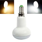 5W E14 LED 글로브 전구 10 SMD 5730 300-400 lm 따뜻한 화이트 / 차가운 화이트 AC 220-240 V 1개