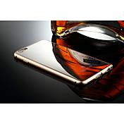 애플 아이폰 6 플러스 알루미늄 고급 금속 프레임 거울 뒷면 케이스 커버