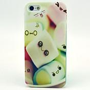 Para Funda iPhone 5 Diseños Funda Cubierta Trasera Funda Dibujos Suave TPU iPhone SE/5s/5