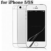 película hd doble máscara de la película de teléfono para iPhone5 / 5s
