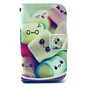 Para Funda Samsung Galaxy Cartera / Soporte de Coche / con Soporte / Flip / Diseños Funda Cuerpo Entero Funda Dibujos Cuero Sintético