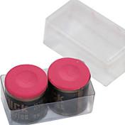 다양한 색상 스누커 또는 당구 벅 분필 원통형의 2 개 조각의 상자