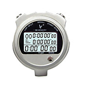 metales cronómetro temporizador electrónico tf100f tres filas 100 de memoria movimiento cronómetro cronómetro