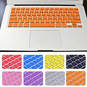 맥북 에어 / 프로 / 망막 13 인치 패키지 뜨거운 판매 솔리드 컬러 실리콘 키보드 커버