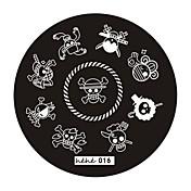 펑크 - 핑거 - 다른 데코레이션 - 금속 6*6*0.5