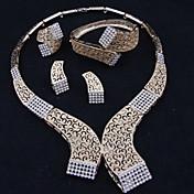 Collar / Pendiente / Brazalete / Anillo (Aleación)- Vintage / Bonito / Fiesta / Casual para Mujer