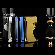 용 삼성 갤럭시 케이스 거울 / 플립 / 투명 케이스 풀 바디 케이스 단색 PC Samsung A8 / A7 / A5