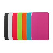용 삼성 갤럭시 케이스 스탠드 / 자동 슬립/웨이크 기능 / 플립 / 오리가미 케이스 풀 바디 케이스 단색 인조 가죽 SamsungTab 4 10.1 / Tab S 8.4 / Tab S 10.5 / Tab Pro 10.1 / Tab E 9.6 /