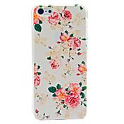 Modelo De Flor Hermosa duro caso para iPhone 5C