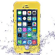 Para Funda iPhone 6 / Funda iPhone 6 Plus Antigolpes / Antipolvo / Impermeable Funda Cuerpo Entero Funda Un Color Dura Policarbonato