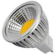 5W GU5.3(MR16) LED 스팟 조명 MR16 1 COB 400LM lm 따뜻한 화이트 / 차가운 화이트 장식 DC 12 V 1개