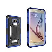 Para Samsung Galaxy Note con Soporte Funda Cubierta Trasera Funda Armadura Policarbonato Samsung Note 5