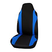cubierta de asiento de coche autoyouth tejido de poliéster ajuste universal mayoría de los vehículos asiento cubre asiento accesorios de