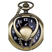 Hombre Reloj de Bolsillo Cuarzo Aleación Banda