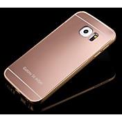 용 삼성 갤럭시 케이스 거울 케이스 뒷면 커버 케이스 단색 PC Samsung S6 edge plus / S6 edge / S6 / S5 / S4