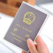 1개 여권 지갑& ID홀더 여권 커버 방수 먼지 방지 울트라 라이트 (UL) 휴대용 용 여행용 보관함 PVC