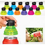 Satz von 6 kreative Soda Sparer Topper wiederverwendbare Flaschenverschlüsse umwandeln