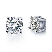 8 Colors Crystal Zircon Earrings Stud Earrings For Women 925 Sterling Silver Earrings Fashion Jewelry Accessories