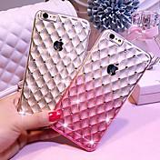 용 아이폰6케이스 / 아이폰6플러스 케이스 충격방지 / 투명 케이스 뒷면 커버 케이스 컬러 그라데이션 소프트 TPU iPhone 6s Plus/6 Plus / iPhone 6s/6