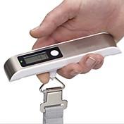 50kg 여행 휴대용 백라이트 짐 DIGITA 체중 규모의 LCD 손전등