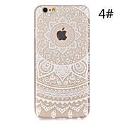 용 아이폰6케이스 / 아이폰6플러스 케이스 투명 / 패턴 케이스 뒷면 커버 케이스 레이스 디자인 하드 PC iPhone 6s Plus/6 Plus / iPhone 6s/6