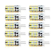 3W G4 Luces LED de Doble Pin T 81 SMD 2835 260 lm Blanco Cálido / Blanco Fresco Regulable AC 100-240 / DC 12 / AC 12 V 10 piezas