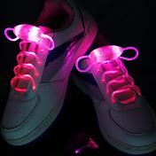 멋진 현혹의 noctilucence 색 신발 끈을 주도