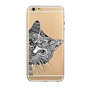 용 아이폰6케이스 아이폰6플러스 케이스 케이스 커버 울트라 씬 투명 패턴 뒷면 커버 케이스 카툰 소프트 TPU 용 iPhone 6s Plus iPhone 6 Plus iPhone 6s 아이폰 6
