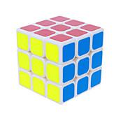 부드러운 속도 큐브 3*3*3 속도 매직 큐브 아이보리 / 블랙 페이드 PVC / ABS